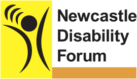 Newcastle Disability Forum logo