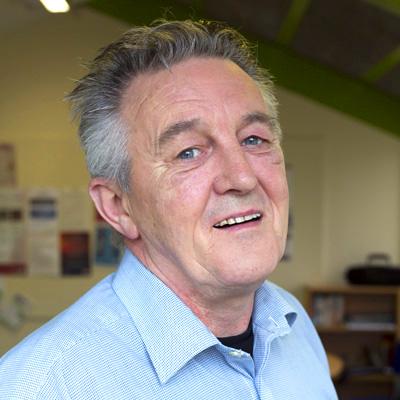 Portrait Image of Ross Irvine