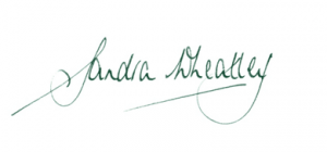 Sandra Wheatley signature